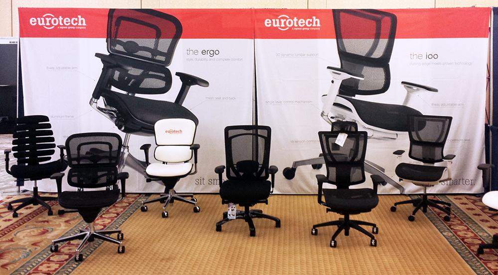 Custom Printed Backdrops For Eurotech