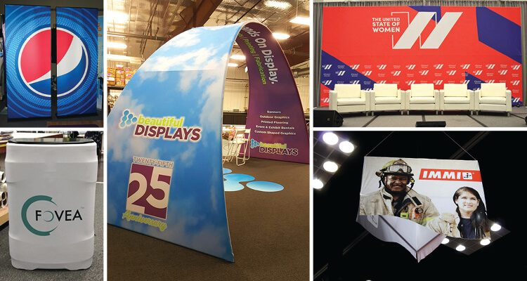 Top Fabric Event Displays